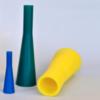 holle conische siliconen doortrekpluggen